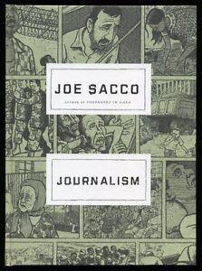 Joe Sacco - Journalism; SIGNED 1st/1st