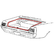 68-71 Ford Fairlane 70 1/2 Falcon Trunk Weatherstrip