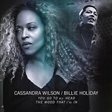 """You Go to My Head/the Mood That I'm in 10"""" Vinyl Cassandra Wilson/billie Holid"""