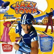 LazyTown - The Album CD & DVD (CD) NEW & Sealed