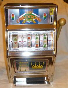 Working Vintage Casino Crown 25 Cent Slot Machine Waco Excellent Condition Japan