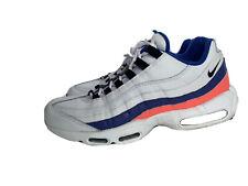 "Nike Air Max 95 ""Ultramarine"" Men's Sneakers Sz 10.5 WHT SOLAR RED 749766 106"