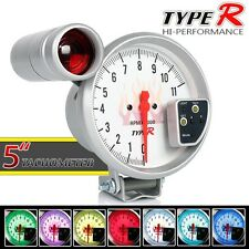 "New MONSTER 5"" Revcounter Tachometer RPM Meter with Peak Shift Light & 7 Colors"