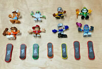Lot of 15 Tech Deck Dude Figures and Skateboards