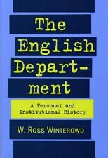 The English Department: A Personal and Institutional History-ExLibrary