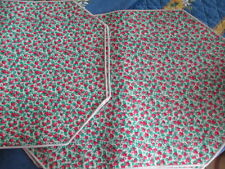 STRAWBERRY PLACEMATS ~  SET OF 4 ~