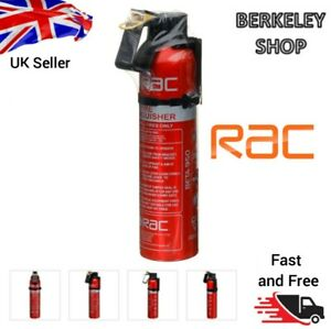 New RAC Fire Extinguisher handy car accessory for small fires only