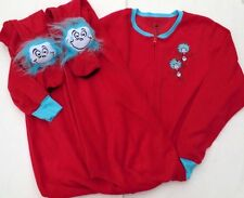 Dr Seuss THING 123D 1 PC Costume Footed Pajamas Union M or L NWT LAST ONES