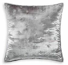 Hudson Park Collection Woven Diamond Quilted Pillow Sham, Grey, King - New
