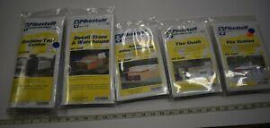 Lot 10-55 * HO Scale Pikestuff 5 x Assorted Pkgs Building/Accessory kits