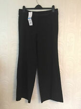 Evans Wide Leg Mid Rise Trousers for Women