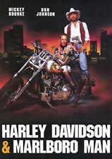 HARLEY DAVIDSON AND THE MARLBORO MAN Movie POSTER 11x17 B Kelly Hu Mickey Rourke