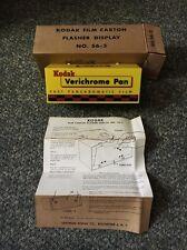 Vintage NOS Kodak Verichrome Light Up Sign
