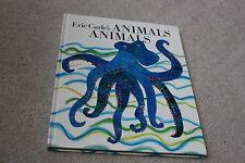 Eric Carle's Animals Animals Large Hardback Book Kids Eric Carle