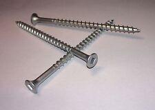 "3"" x #8 Square Drive Flat Head Coarse Thread Dacrotized Wood Screw (100)"