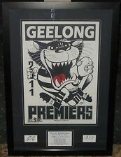 Geelong 2011 Weg Tribute *Signed*