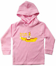 Boys' 100% Cotton Long Sleeve Sleeve Hooded T-Shirts & Tops (2-16 Years)
