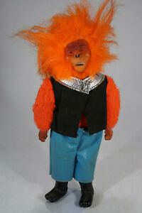 """vintage 1974 Well Made Toys Brooklyn Planet of the Apes Dr. Zaius  12"""" Figur"""