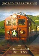 The Polar Express - World Class Trains Robert Garofalo, Beardsall NEW UK R2 DVD