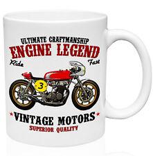 Honda 750 Cb Cafe Racer 11oz Ceramic High Quality Coffee Mug