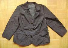 @ c&a @ Ligero Vestir Blazer Negro Pequeño Blanco Lunares Gr. 46 talla 3xl