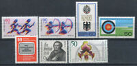 Berlin 1979 Mi. 596-602 MNH 100% Sport, coat of arms, culture, personality