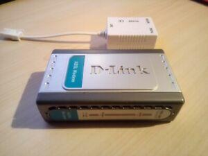 D-Link ADSL Modem DSL-200 With Line Filter