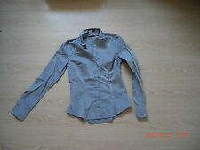 graue Bluse von H&M, Gr. 34