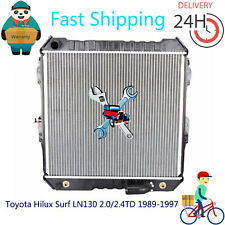 Premium Radiator for Toyota Hilux Surf LN130 2.0/2.4TD 1989-1997 Auto/Manual