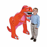Inflatable 4' Tall Dinosaur - T-Rex - Party Decorations & Supplies - 1 Piece