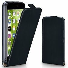Luxury Vertical Flip Magnetic Leather Case Cover Pouch For iPhone 5S SE 6 7 Plus