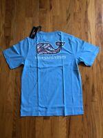 NWT Boy's Vineyard Vines Martha's Vineyard Fish Whale Pocket T-Shirt M, L, XL
