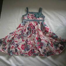 'SODA KIDS' GIRLS SUMMER FLORAL DRESS, SIZE 4 YRS