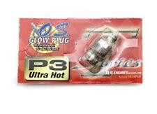 Candela O.S. OS P3 Glow plug Ultra Hot Turbo per Motori 1/8 Buggy Truggy Monster