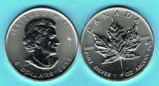 CANADA - 5 DÓLARES 2013 MAPLE LEAF, 1 ONZA PLATA - 1 OZ. SILVER