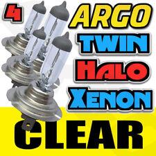 4 piezas H7 499 55w 12v 6500k Halógena Bombillas HID Xenón Faros Delanteros