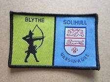 Blythe County District Cloth Patch Badge Boy Scouts Scouting L5K B