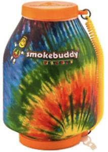 """Smoke Buddy The Original PERSONAL AIR FILTER """"Tie-Dye"""" w/ FREE Keychain"""