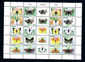 [ARV812] Aruba 2015 Butterflies Papillons Schmetterlingen Miniature Sheet MNH