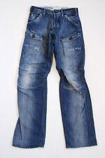 G-Star Storm Elwood Jeans Hose Blau Stonewashed W29 L34