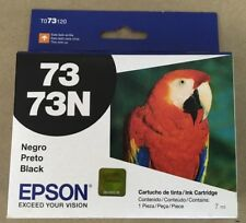Genuine OEM Epson Black Ink Cartridge 400 Yield for Stylus Series 73N T073120