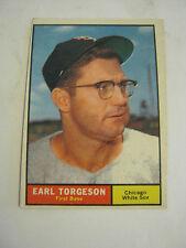 1961 Topps #152 Earl Torgeson Baseball Card, Good Cond (GS2-b7)