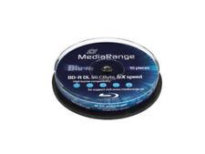 MEDIARANGE Bluray BD-R DL 50GB 1-6X cake 10 MR507