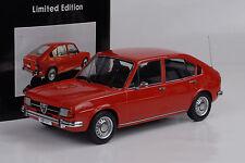1974 Alfa romeo Alfasud 1.3 rouge red 1:18 KK scale Miniature