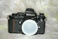 Nikon F3HP 35mm SLR Professional Camera Body/Meter not working