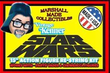 """1978 Kenner 15"""" STAR WARS ACTION FIGURE RE-STRING KIT for CHEWBACCA, DARTH VADER"""