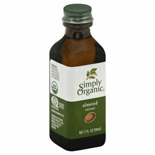 SIMPLY ORGANIC, EXTRACT ALMOND ORG, 2 OZ, (Pack of 6)