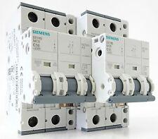 2x Siemens 5SY45 C16 Sicherungsautomat Leitungsschutzschalter 16A 230V + 5ST3010