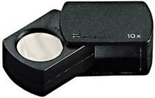 Eschenbach Precision Folding Tapered Case Coin Magnifier 23mm 10X Stamp Loupe