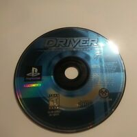Driver (Sony PlayStation 1, 1999) Disc Only Tested